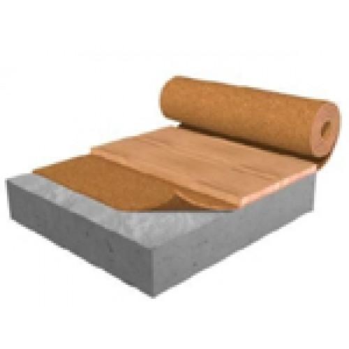 6mm Flat Cork Roll Soundproof Floor Cork Underlayment